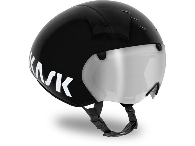 Kask Bambino Pro Kask rowerowy dodatkowo wizjer, black